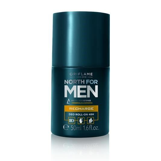 Kuličkový antiperspirant deodorant 48h North for Men Recharge